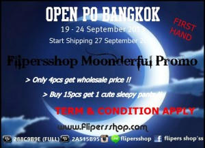 Flipersshop promo September 2013