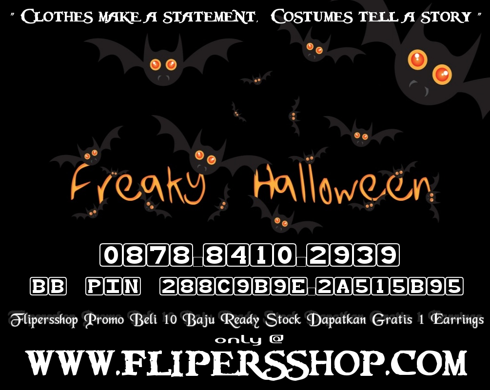 Flipersshop Octofest Halloween