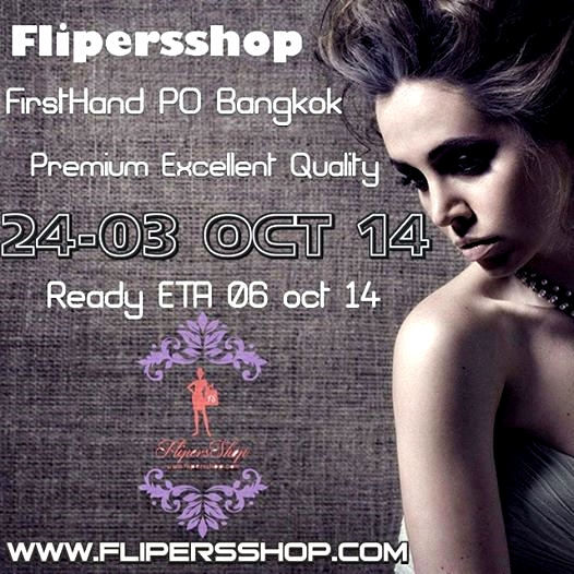 Promo Baju Bangkok FirstHand 23-03 October 2014 Flipersshop [PO BKK]
