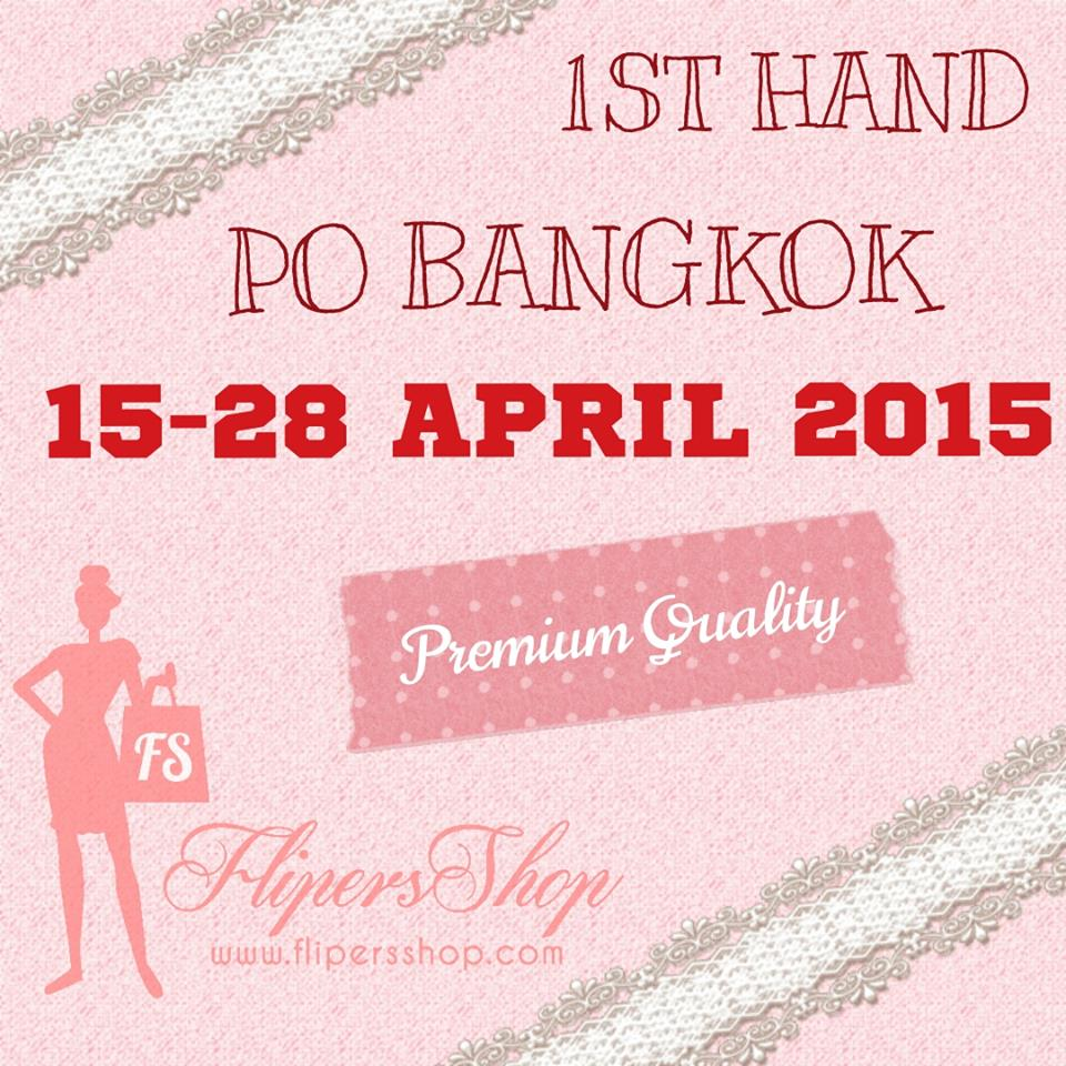 Preorder Baju Bangkok Premium Grosir 15-28 April 2015 Flipersshop PO BKK