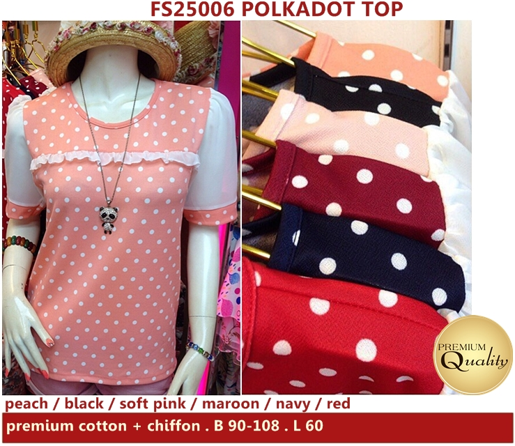 Polkadot Top