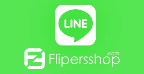 Official Account LINE @flipersshop