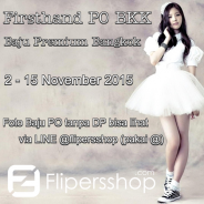 Open PO Baju Bangkok 02-15 November 2015.