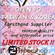 Open (Pre Order) PO KOREA & TAIWAN by Flipersshop
