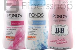 Bedak Ponds Magic Powder BB dan Angel Face
